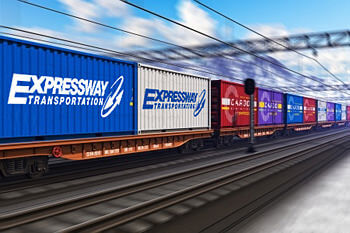 Intermodal Rail Freight Transportation Services