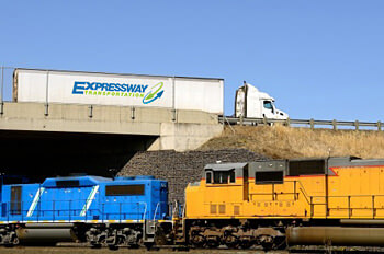 Intermodal Rail Freight Transport Services